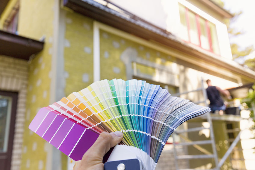 choosing a paint color for house exterior